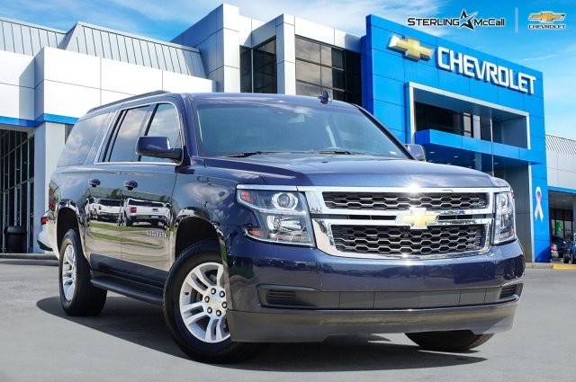 Pre Owned Suburban >> Pre Owned 2019 Chevrolet Suburban Lt Rear Wheel Drive Sport Utility
