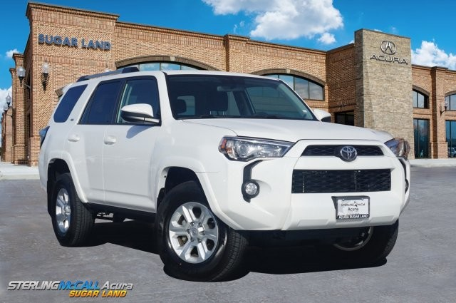 Suv With Third Row >> Pre Owned 2019 Toyota 4runner Sr5 Navigation Third Row Four Wheel Drive Suv