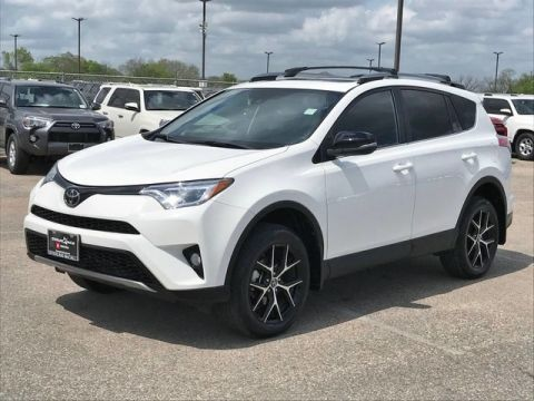 Certified Pre-Owned 2018 Toyota RAV4 SE Front Wheel Drive SUV - Offsite Location