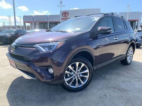 Certified Pre-Owned 2016 Toyota RAV4 LTD Front Wheel Drive SUV - In-Stock