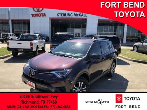Certified Pre-Owned 2017 Toyota RAV4 LE Front Wheel Drive SUV - In-Stock