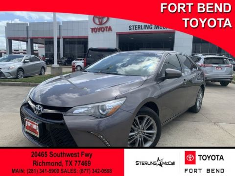 Certified Pre-Owned 2016 Toyota Camry SE Front Wheel Drive Sedan - In-Stock