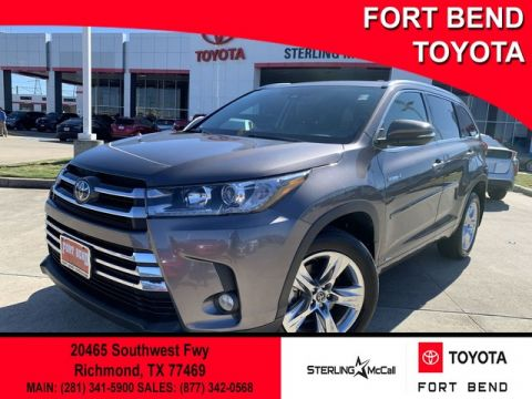 Certified Pre-Owned 2018 Toyota Highlander Hybrid Limited All Wheel Drive SUV - In-Stock