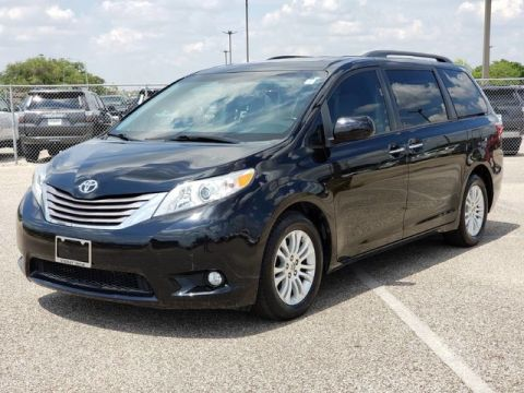 Certified Pre-Owned 2016 Toyota Sienna XLE Front Wheel Drive Minivan/Van - Offsite Location