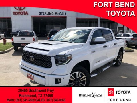 Certified Pre-Owned 2019 Toyota Tundra SR5 Four Wheel Drive Pickup Truck - In-Stock