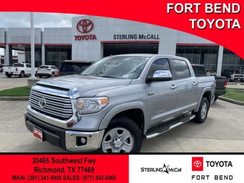 Certified Pre-Owned 2017 Toyota Tundra Limited Rear Wheel Drive Pickup Truck - In-Stock