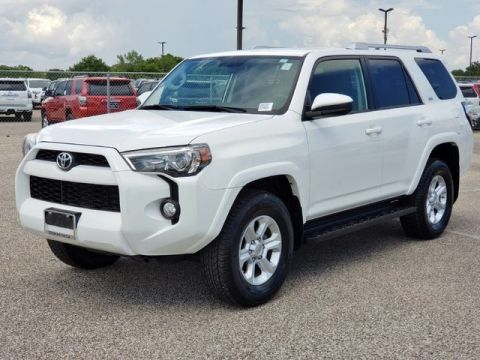 Certified Pre-Owned 2018 Toyota 4Runner SR5 Four Wheel Drive SUV - Offsite Location
